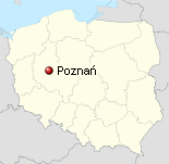 Poznan Location in Poland
